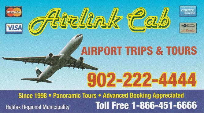 Halifax Airlink Cab